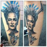 Brian Ulibarri, Denver Tattoo Artist specializing in realism and portraits in both color and black and grey